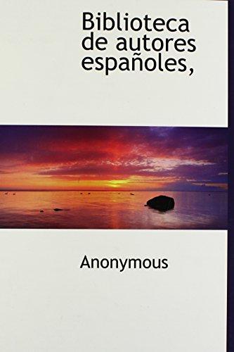 9781117197326: Biblioteca de autores españoles, (Spanish Edition)