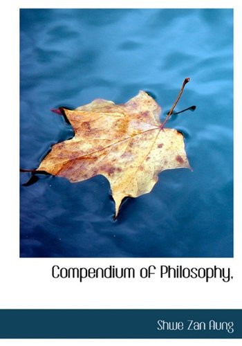 9781117200583: Compendium of Philosophy,