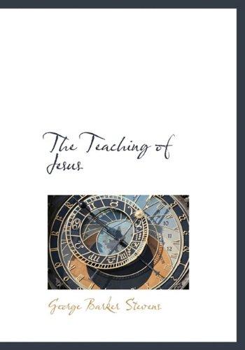 9781117202778: The Teaching of Jesus