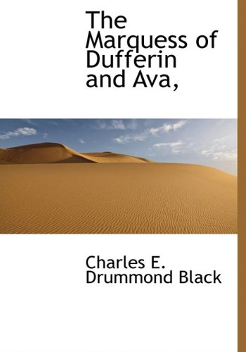 9781117211473: The Marquess of Dufferin and Ava,