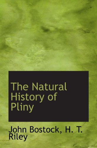9781117234649: The Natural History of Pliny
