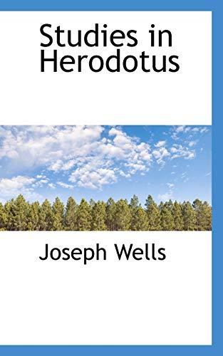 9781117247458: Studies in Herodotus
