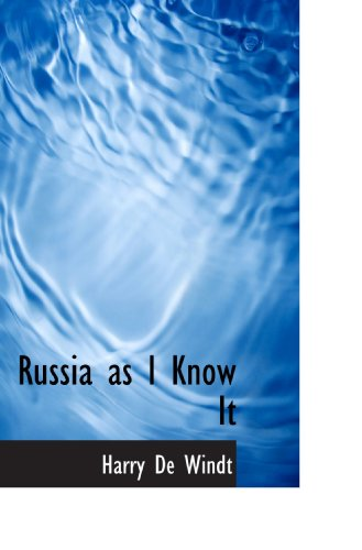 9781117265353: Russia as I Know It