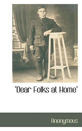 Dear Folks at Home