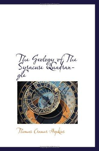 9781117276458: The Geology of The Syracuse Quadrangle
