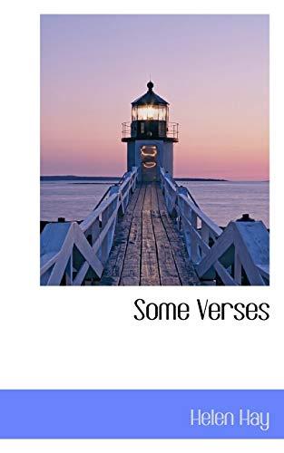 9781117286549: Some Verses