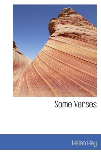 9781117286556: Some Verses