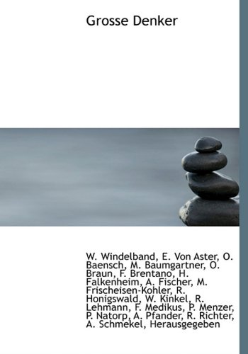9781117318936: Grosse Denker (German Edition)