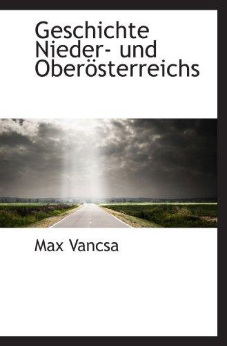9781117343136: Geschichte Nieder- und Oberösterreichs