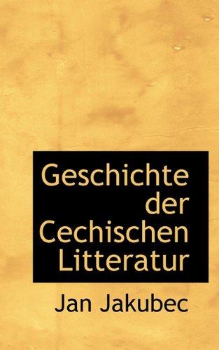 9781117343242: Geschichte Der Cechischen Litteratur