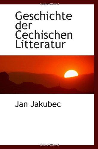 9781117343259: Geschichte der Cechischen Litteratur