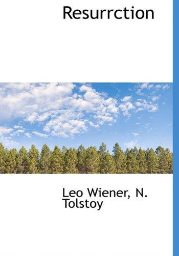 Resurrction: Leo Wiener