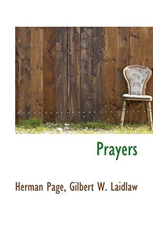 Prayers (Paperback): Herman Page, Gilbert