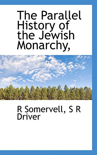 9781117373478: The Parallel History of the Jewish Monarchy,