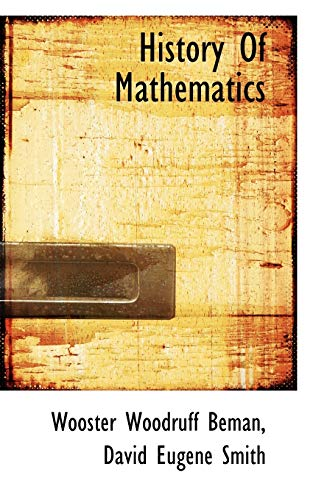9781117380230: History Of Mathematics