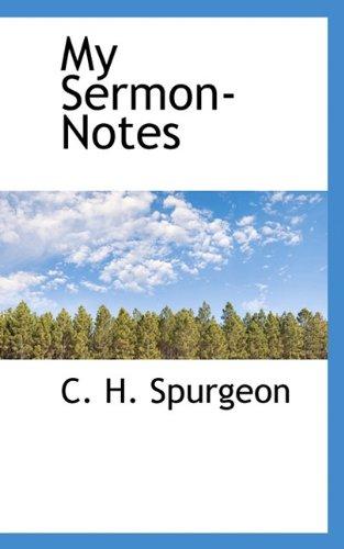 9781117390840: My Sermon-Notes