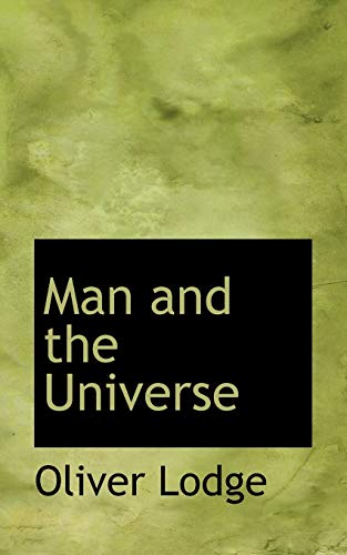 9781117392103: Man and the Universe