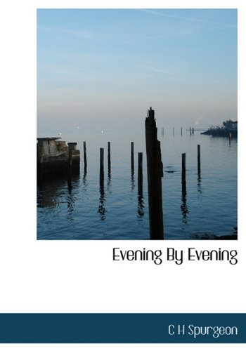 9781117401379: Evening by Evening