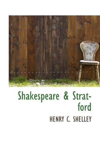 9781117435084: Shakespeare & Stratford