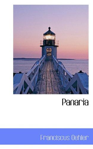 9781117442075: Panaria (Latin Edition)