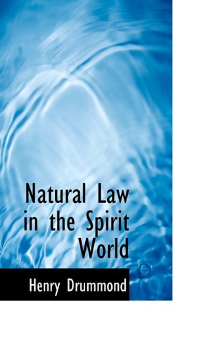 9781117459189: Natural Law in the Spirit World