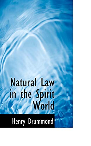 9781117459196: Natural Law in the Spirit World