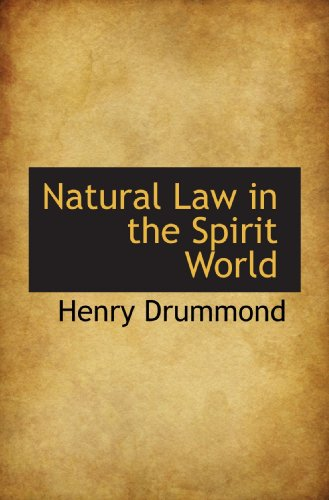 9781117459202: Natural Law in the Spirit World