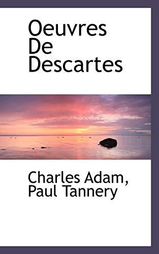 9781117494494: Oeuvres De Descartes (French Edition)
