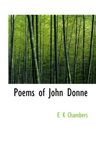 9781117495507: Poems of John Donne