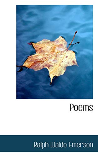 Poems (111753524X) by Ralph Waldo Emerson