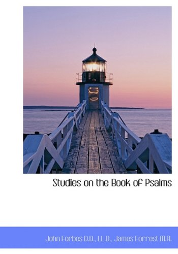 9781117573281: Studies on the Book of Psalms
