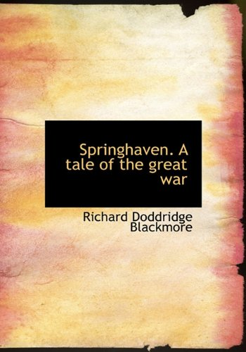 9781117577876: Springhaven. A tale of the great war