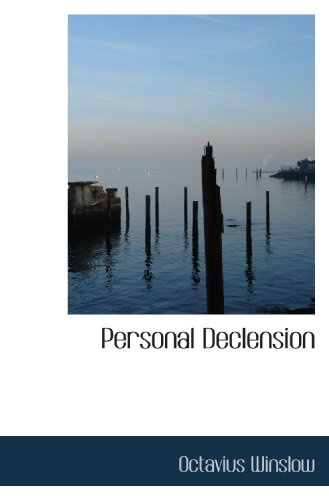 9781117582924: Personal Declension