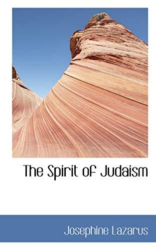 9781117596570: The Spirit of Judaism