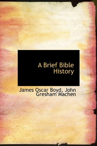 9781117629322: A Brief Bible History