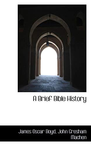 9781117629339: A Brief Bible History
