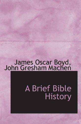 9781117629346: A Brief Bible History