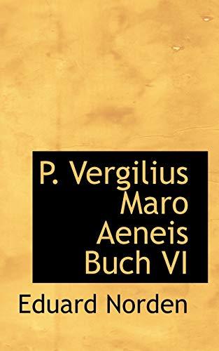 9781117649337: P. Vergilius Maro Aeneis Buch VI (Latin Edition)