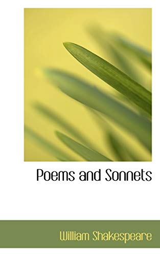 9781117667522: Poems and Sonnets