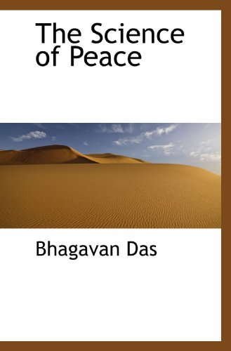 9781117695976: The Science of Peace