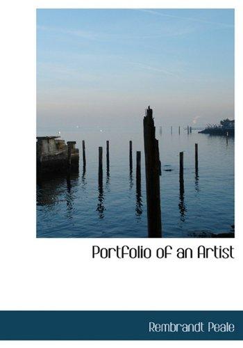 9781117696683: Portfolio of an Artist
