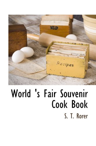 9781117704562: World 's Fair Souvenir Cook Book