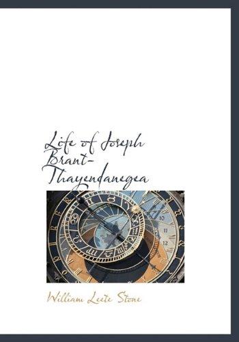 9781117727585: Life of Joseph Brant-Thayendanegea