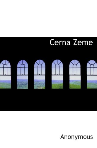 9781117734064: Cerna Zeme (Czech Edition)