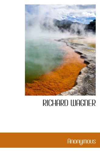9781117740966: RICHARD WAGNER (French Edition)