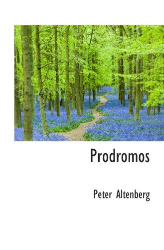 9781117741994: Prodromos (German Edition)
