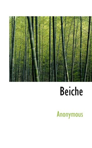 9781117743226: Beiche (German Edition)