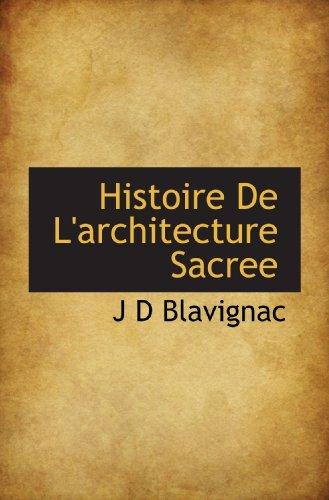 9781117766201: Histoire De L'architecture Sacree