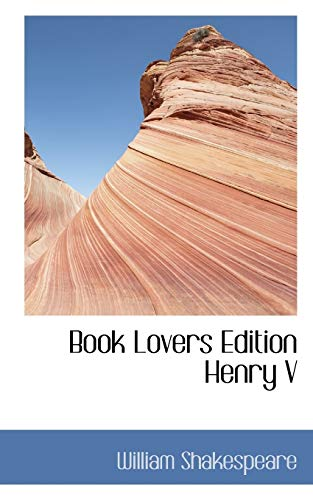 9781117766782: Book Lovers Edition Henry V