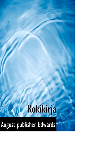 9781117768236: Kokikirja (Finnish Edition)
